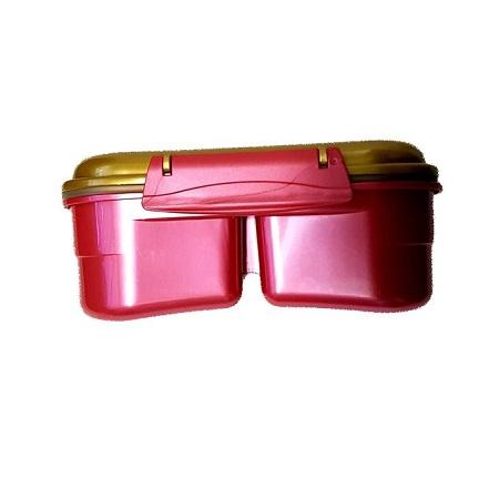 Wonder Woman Sealware Plain Maroon 800ml Lunch Box