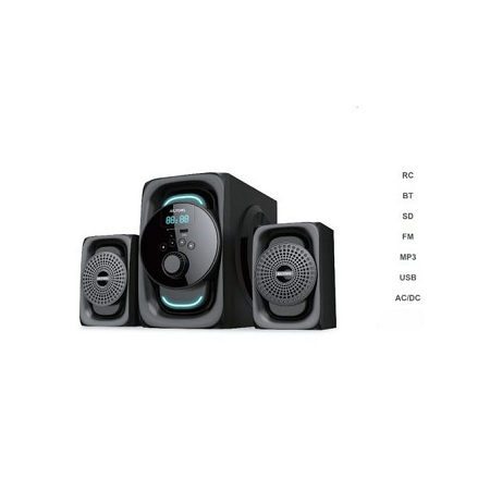 Ailyons 2.1CH Multimedia Speaker - Bluetooth Sub-woofer