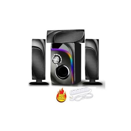Ampex 3.1CH Sound System 12000W PMPO USB/BT/SD/FM +Gift
