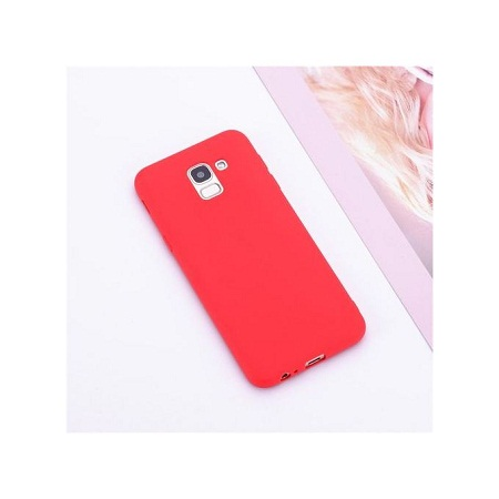 Samsung A70 silicone cover Red