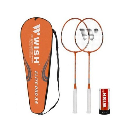 Badminton Racket Set -2-Player + 3 Shuttlecock
