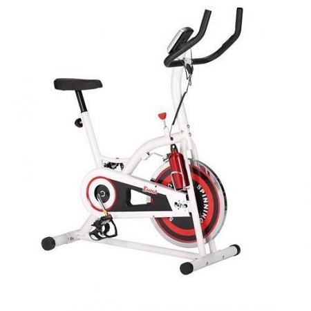 Exercise Bike Flywheel-11Kg, Belt Power, Computer Monitor :Time,Speed, Distance, Calorie