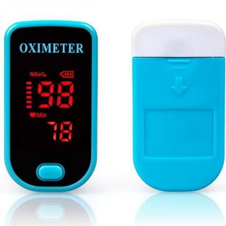 Finger Clip Type Pulse Oximeter Maquiagem Heart Rate Blood Pressure Monitor