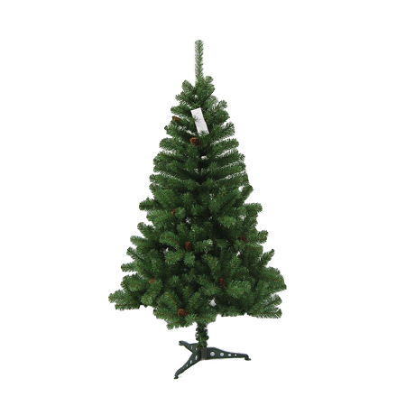 PVC Xmas tree 4ft, 200 Tips