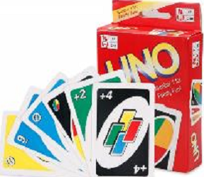 Uno Cards Game, Family Fun Game, 108 Cards