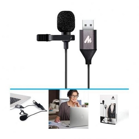 USB Lavalier Microphone-MAONO AU-410