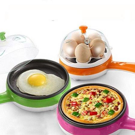 Egg boiler Non Stick Multi function Electric Frying Pan