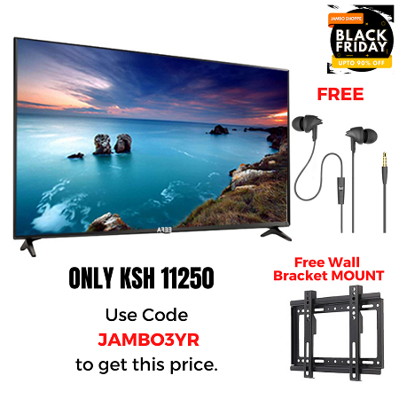 EEFA 32 Inch TV & Free Earphones & Wall Bracket