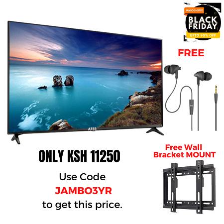 EEFA 32 Inch TV & Free Earphones & Wall Bracket