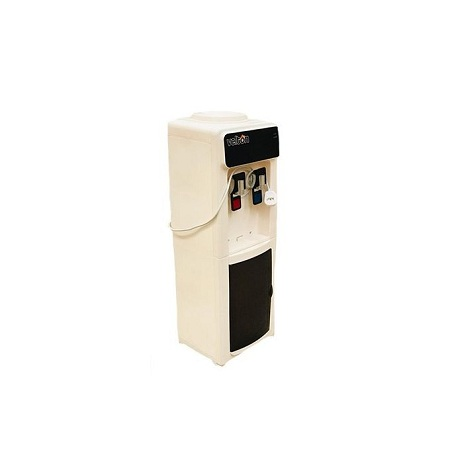 VELTON Hot And Room Temperature Water Dispenser, White & Black