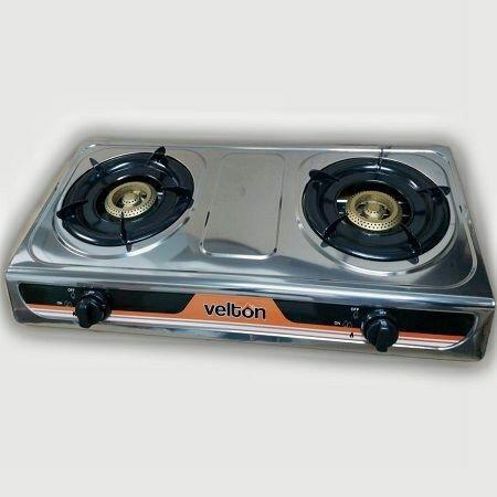 VELTON Gas Stove VGS-7102 2 Burner-Clear