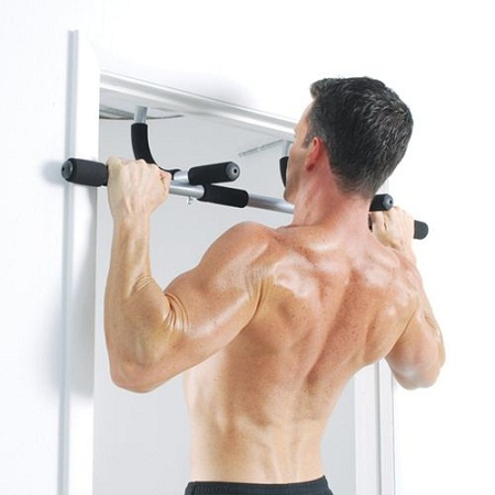Iron Gym Bar(Door Gym) - Black