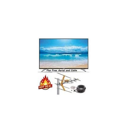 Itel 22 Inch Digital LED TV- Free To Air, USB,VGA,RCA, AUX + Gift