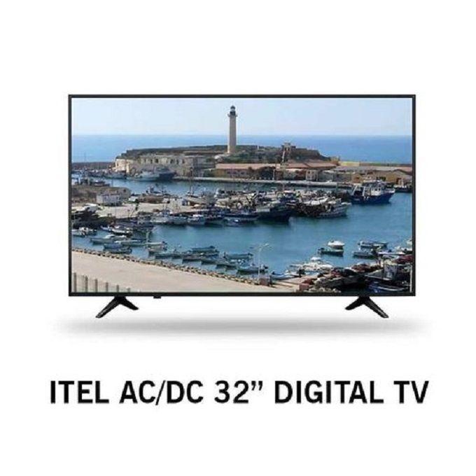 Itel 321-32 Inch,HD LED Digital TV AC/DC Inbuilt Decoder HDMI USB