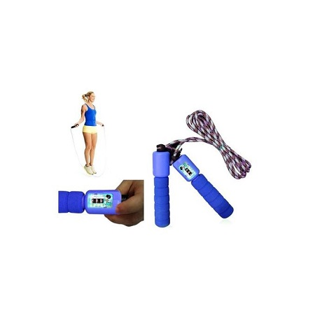 Skipping Rope With Digital Counter Blue