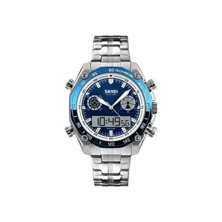 Skmei Mens Top Luxury Digital Army Sports Watch 1204 - Silver