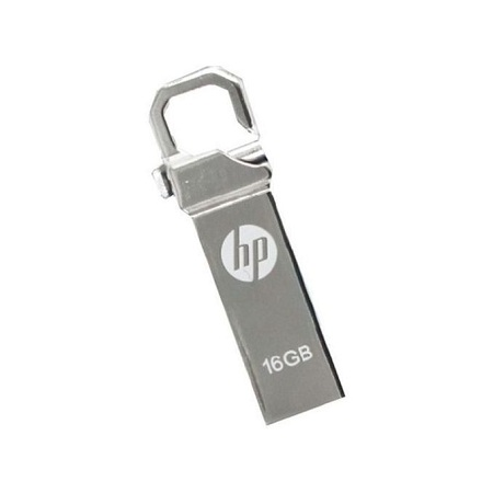 HP Flash Disk With Clip- 16 GB - Silver