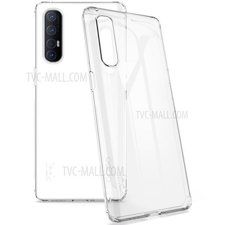 Clear Casing For OPPO RENO 3 Cover (Clear)