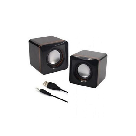 Multimedia Speakers 2.0 USB - Black.