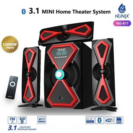 Nunix 3.1Ch MINI Home Theater System