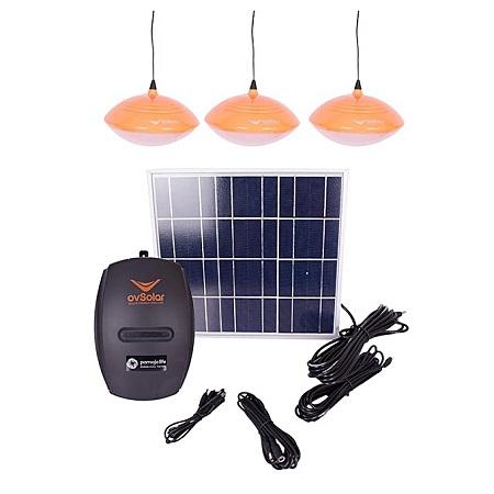 SOLAR HOME LIGHTING with LED bulbs,8watts solar and three lighting-SL03