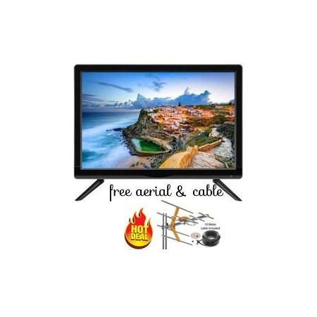 Royal 22 Inch Digital LED TV- Free To Air,USB,VGA, AUX+ Aerial