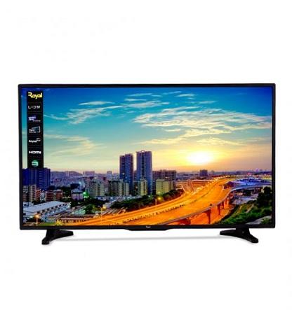 Royal 43 Inch Smart Android LED TV - Black