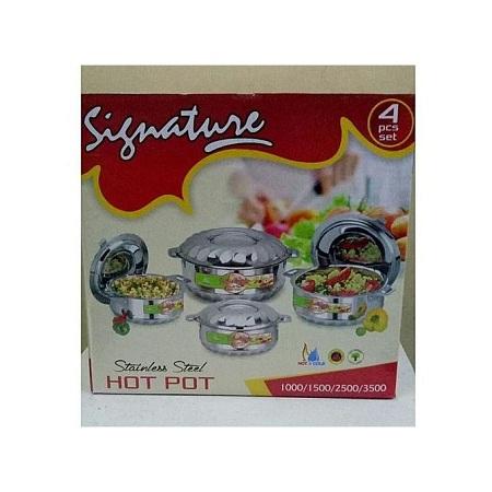 Signature 4 Piece Hot Pot Set