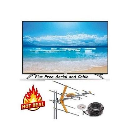 Skywave 22 Inch Digital LED TV- Free To Air,USB,VGA,RCA, AUX Gift Aerial