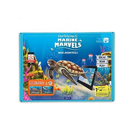 Smart Edge Marine Marvels Magic Jugsaw Puzzle, App Compatible