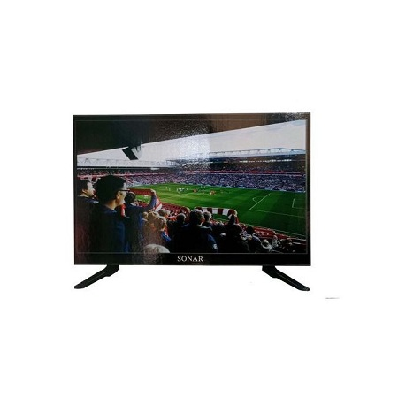 Sonar 22 Inch HD-Digital LED TV - HDMI,USB Port-Inbuilt Decoder