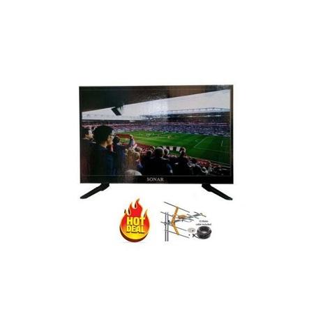 Sonar 22 Inch Digital LED TV- Free To Air,USB,VGA,RCA, AUX Gift Aerial