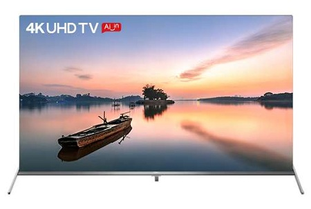 Synix 50 Inch 4K UHD Android TV WI-FI Voice Control Netflix