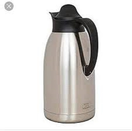 Stainless Steel Thermos Flask - 2 Litres Silver