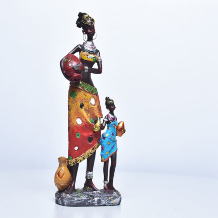 Statue Mother And Daughter
