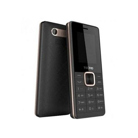 Tecno T301, Dual Sim, Bluetooth, Torch, FM, BLACK