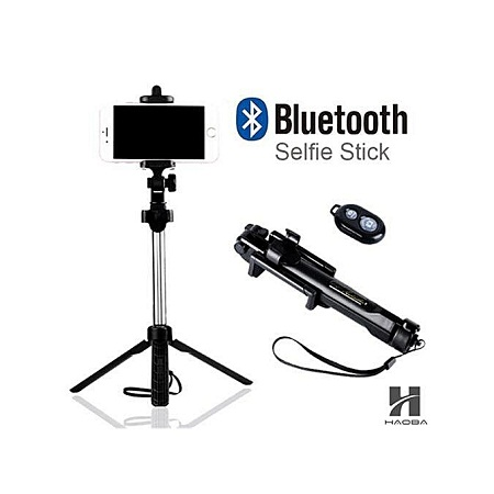 Tripod Selfie Stick Bluetooth For Plus Android And IOS