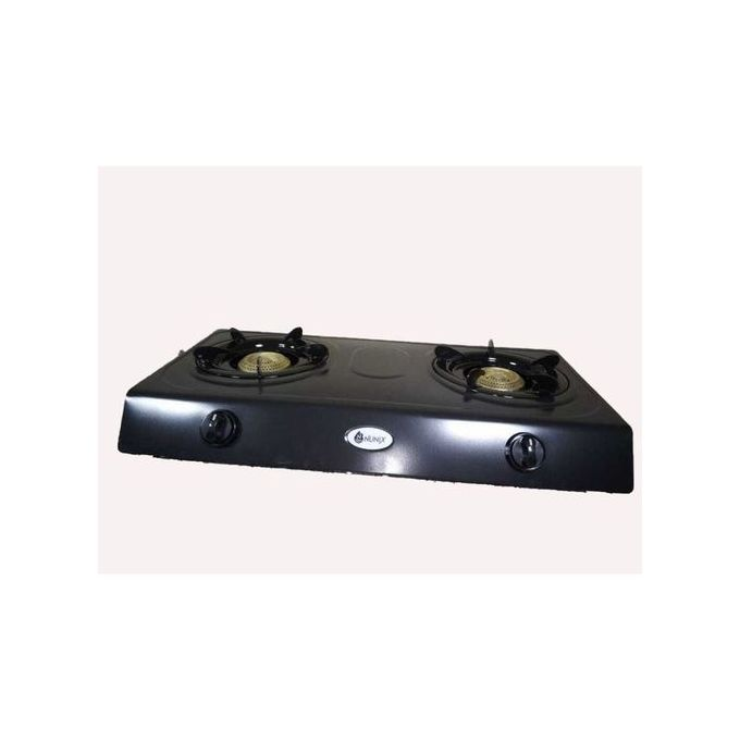Nunix Stainless Steel 2 Burner Gas Stove