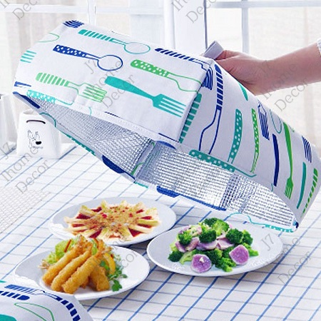 Foldable Aluminum Foil Insulated Food Cover