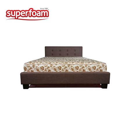 Superfoam Foam Mattress - Multicolored 6 x 6 x 6