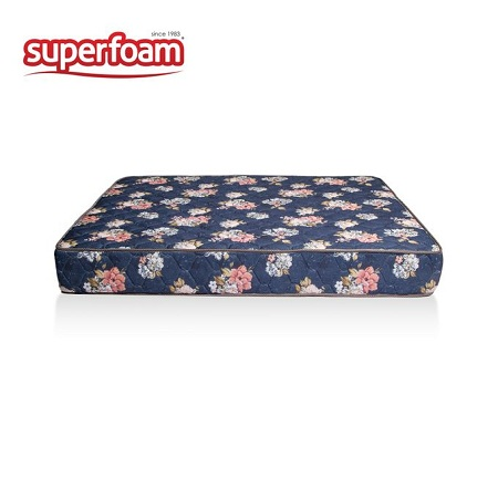 Superfoam High Density Quilted Mattress 5 x 6 x 6
