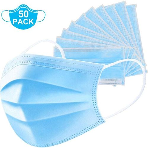Generic 3 Ply Face Mask-50PCS