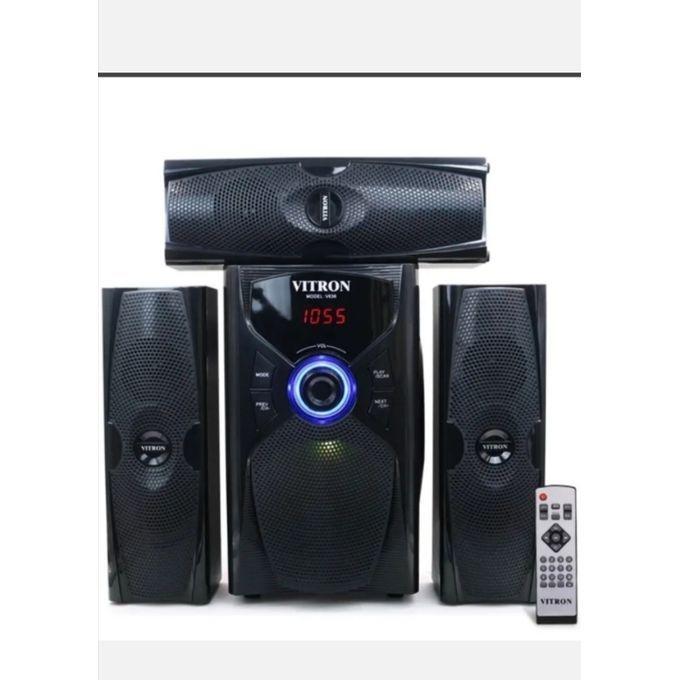 Vitron 3.1ch Hi-Fi Subwoofer Speaker Fm\usb\bt - 10000W