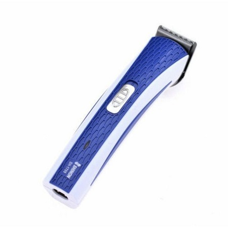 Nova Rechargeable Hair And Beard Trimmer - White & Blue