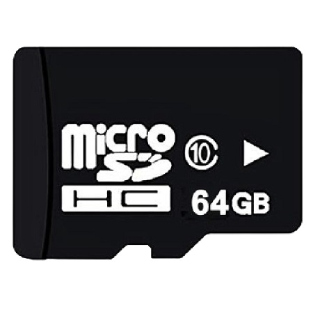 Black Edition 64GB Memory Card with Adapter