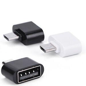 Mini USB Female To Micro USB Male OTG Adapter Converter Connector
