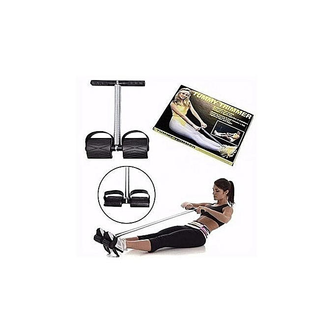Black Quality Portable Tummy Trimmer