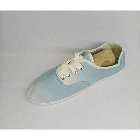 Classy Canvas With A White Sole