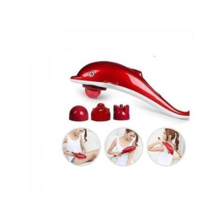 Dolphin Infrared Massage Hammer - Red