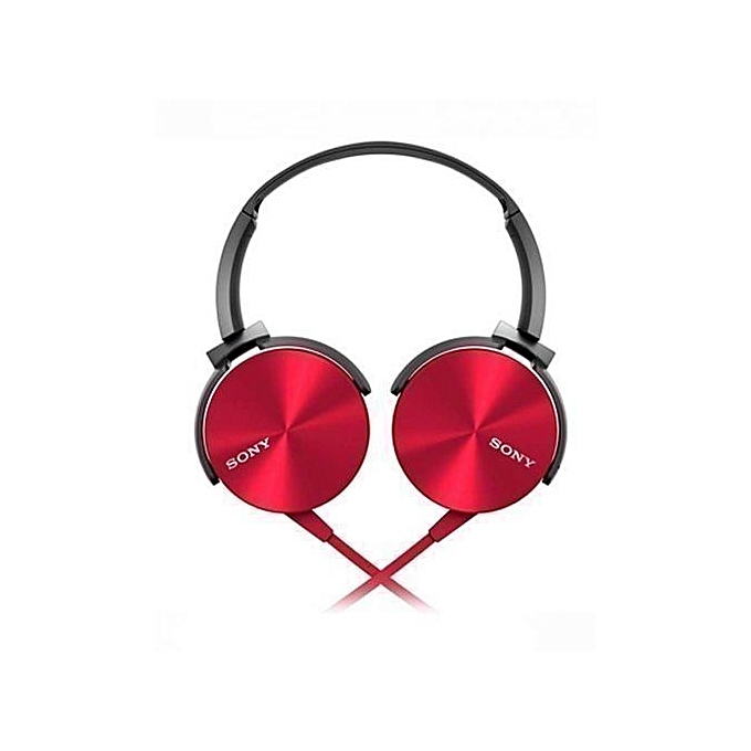 Sony SONY Headphones - Red and Black